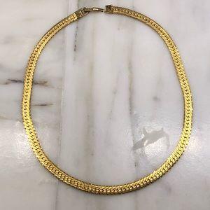 NAPIER Pat 4774743 Long Gold Necklace - EUC